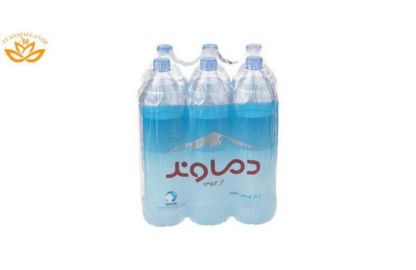 آب معدنی دماوند حجم 1.5 لیتر باکس 6 عددی