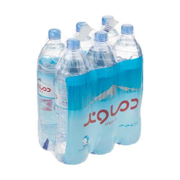 آب معدنی دماوند حجم ۱٫۵ لیتر باکس ۶ عددی
