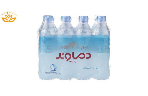 آب معدنی دماوند حجم 500 میلیلیتر باکس 12 عددی