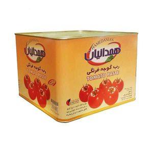 رب گوجه فرنگی همدانیان حلب 9 کیلوگرمی
