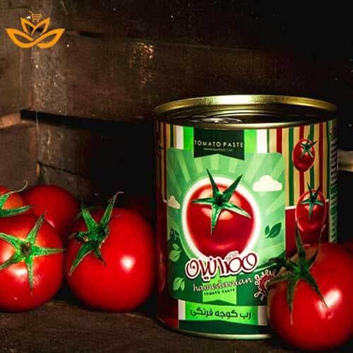 رب گوجه فرنگی همدانیان برای تمام مصارف غذایی