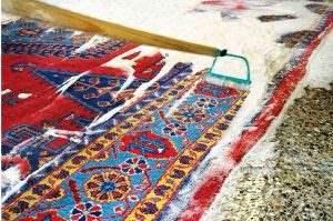 نحوه شستن فرشهای دستباف