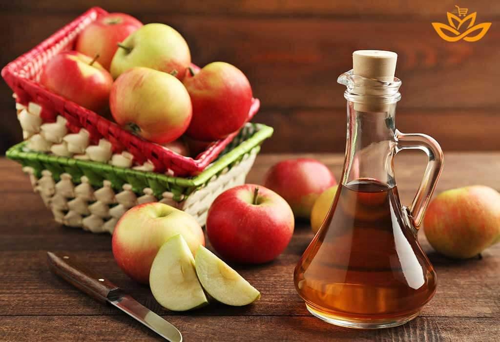 ارزش غذایی موجود در سرکه سیب قرمز