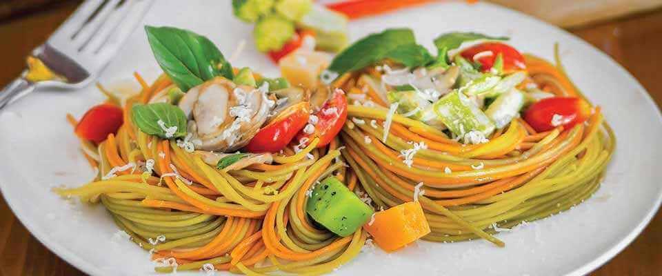 ماکارونی میکس سبزیجات 500 گرم زر در کارتن 20 عددی