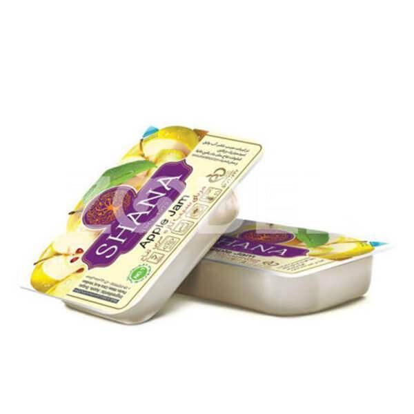 عکس شاخص مربا 25 گرمی سیب شانا در کارتن 240 عددی