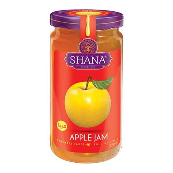 مربا 570 گرمی سیب شانا در کارتن 6 عددی