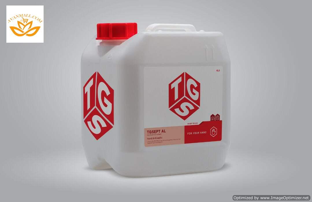 محلول ضدعفونی کننده 4 لیتری TGS در کارتن 2 عددی