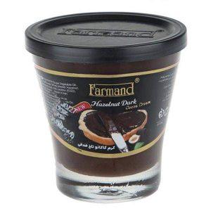 عکس شاخص شکلات صبحانه 110 گرمی تلخ فرمند در کارتن 24 عددی