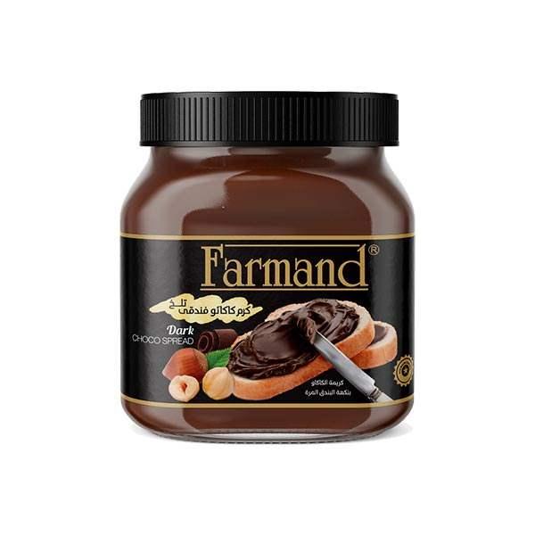 عکس شاخص شکلات صبحانه 350 گرمی تلخ فرمند در کارتن 12 عددی