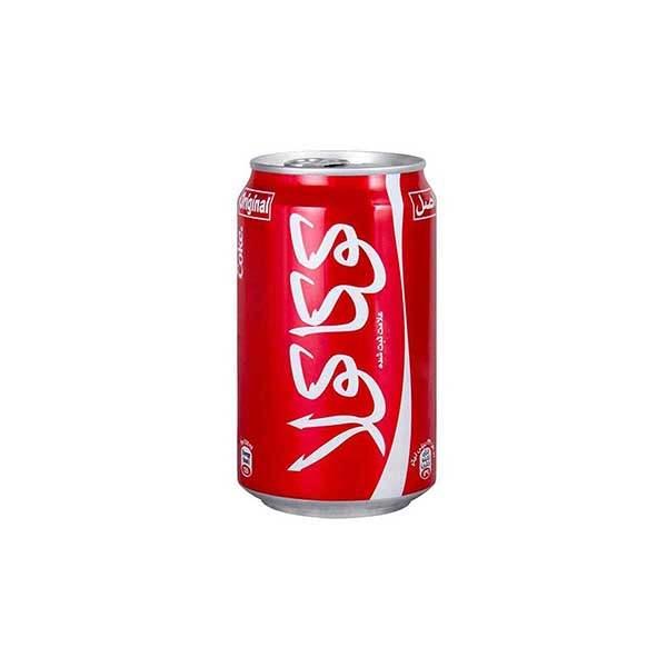 نوشابه کوکاکولا 330 میلی لیتری در بسته بندی 24 عددی