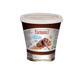 عکس شاخص شکلات صبحانه 110 گرمی فندقی فرمند در کارتن 24 عددی