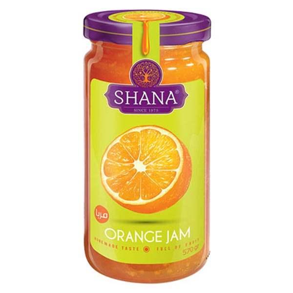 مربا 570 گرمی پرتقال شانا در کارتن 3 عددی