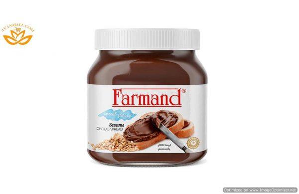 شکلات صبحانه 350 گرمی کنجدی فرمند در کارتن 12 عددی