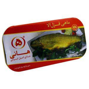 عکس شاخص،ماهی قزل آلا 285 گرمی هانی در کارتن 32 عددی