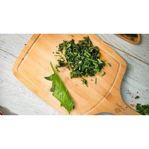 عکس شاخص،سبزی اسفناج خرد شده آماده مصرف در بسته 5 کیلوگرمی
