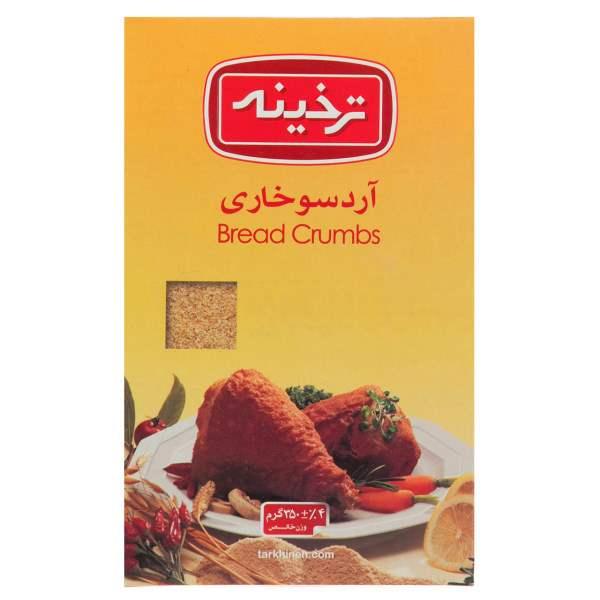 عکس شاخص آرد سوخاری 350 گرمی ترخینه در کارتن 12 عددی
