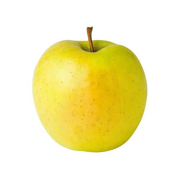 سیب زرد در سبد 10 کیلوگرمی