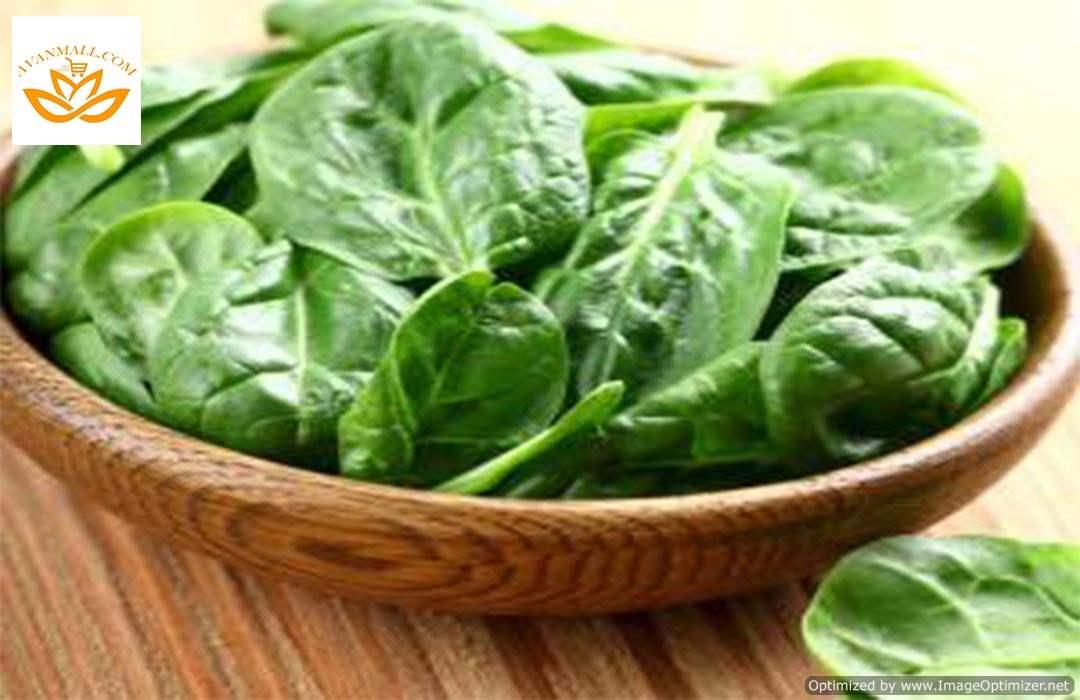 سبزی اسفناج منجمد در بسته بندی 5 کیلوگرمی