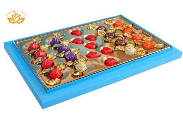 شکلات کادوئی میکس 239 گرمی طرح ونیز در کارتن 5 عددی