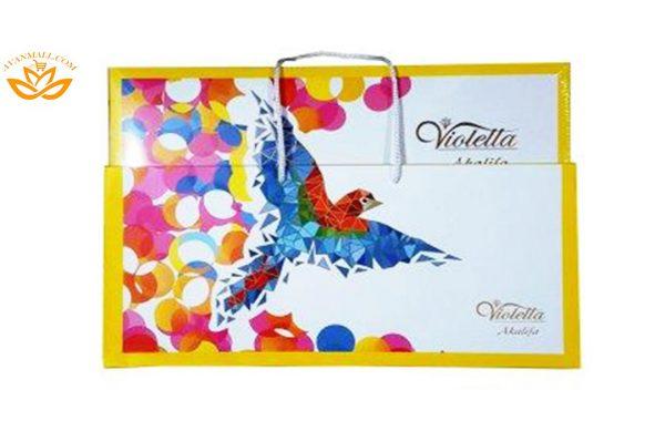 شکلات کادوئی آکولیفا 187 گرمی طرح طوطی در کارتن 5 عددی