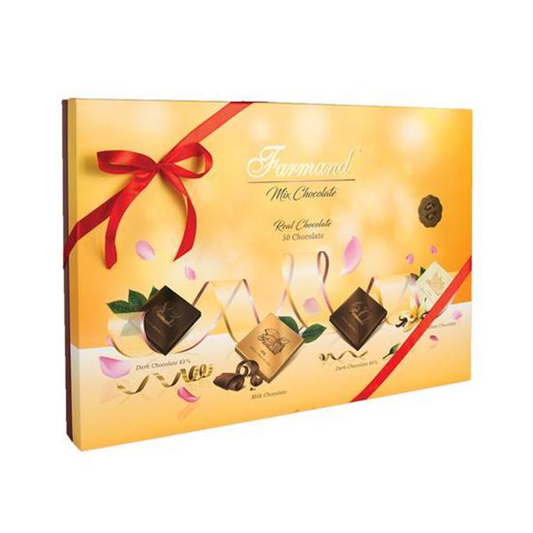 عکس شاخص شکلات رگالو 222 گرمی فرمند در کارتن 5 عددی