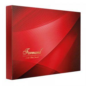 عکس شاخص شکلات کادوئی طرح گارنت 200 گرمی فرمند در کارتن 5 عددی