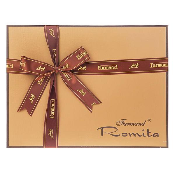 عکس شاخص شکلات کادوئی رومیتا رویال 200 گرمی در کارتن 6 عددی