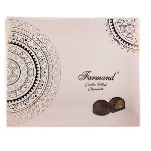 عکس شاخص شکلات کادوئی لوکس 196 گرمی طرح خورشید در کارتن 5 عددی