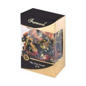 عکس شاخص شکلات کادوئی لاگومیکس طرح لبخند 400 گرمی فرمند در کارتن 6 عددی