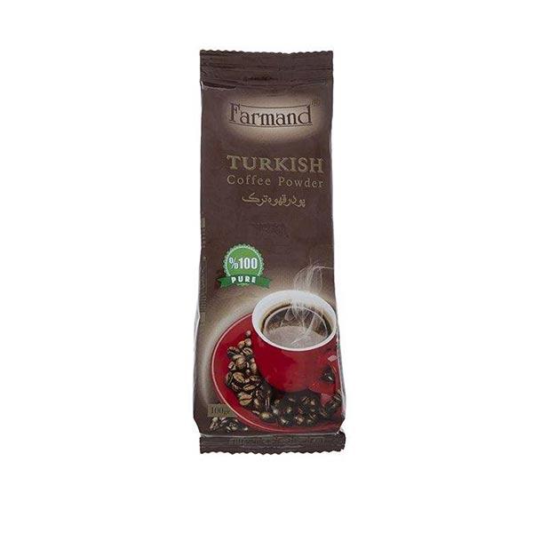 عکس شاخص پودر قهوه 100 گرمی فرمند در 8 پاکت 6 عددی