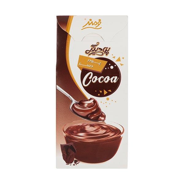 عکس شاخص پودر دسر 135 گرمی فرمند با طعم کاکائو در 6 جعبه 8 عددی