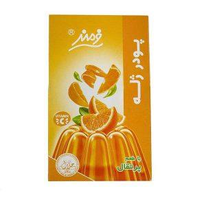 عکس شاخص پودر ژله 100 گرمی فرمند با طعم پرتقال در 6 بسته 9 عددی