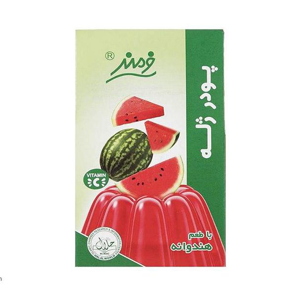 عکس شاخص پودر ژله 100 گرمی فرمند با طعم هندوانه در 6 بسته 9 عددی