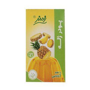 عکس شاخص پودر ژله 100 گرمی فرمند با طعم آناناس در 6 بسته 9 عددی