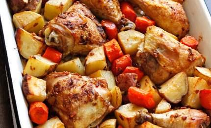 خوراک مرغ 285 گرمی هانی در کارتن 32 عددی