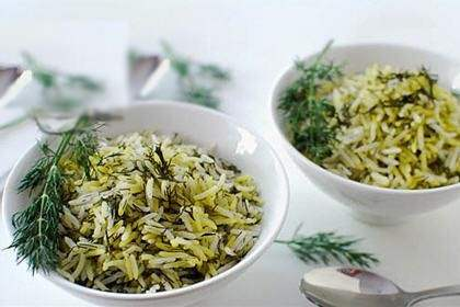سبزی شوید خرد شده آماده مصرف در بسته 10 کیلوگرمی