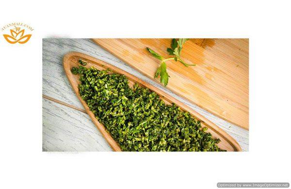 سبزی آش خرد شده آماده مصرف در بسته 5 کیلوگرمی