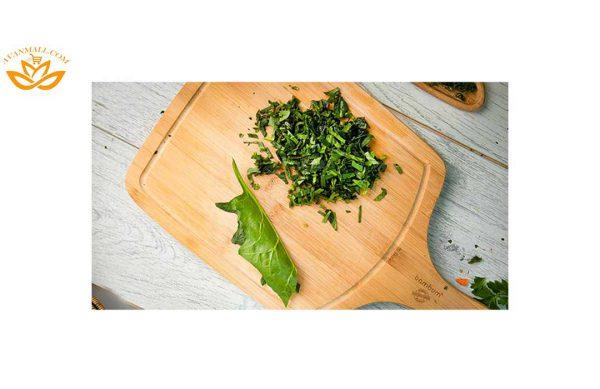 سبزی اسفناج خرد شده آماده مصرف در بسته 5 کیلوگرمی