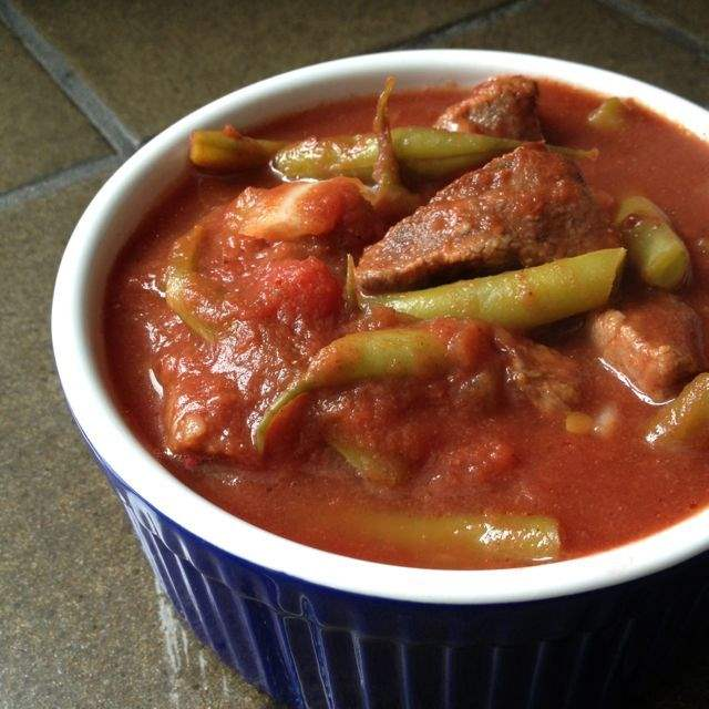 خوراک لوبیا سبز با گوشت 285 گرمی هانی در کارتن 32 عددی