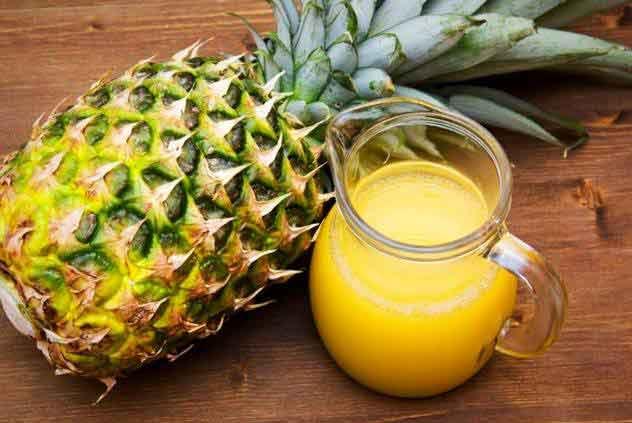 آناناس در سبد 10 کیلوگرمی