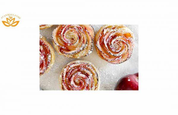 سیب قرمز در سبد 10 کیلوگرمی