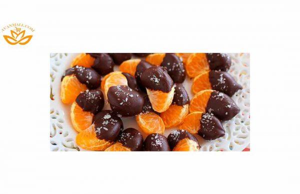 نارنگی در سبد 10 کیلوگرمی