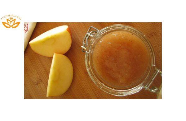 سیب گلاب در سبد 10 کیلوگرمی