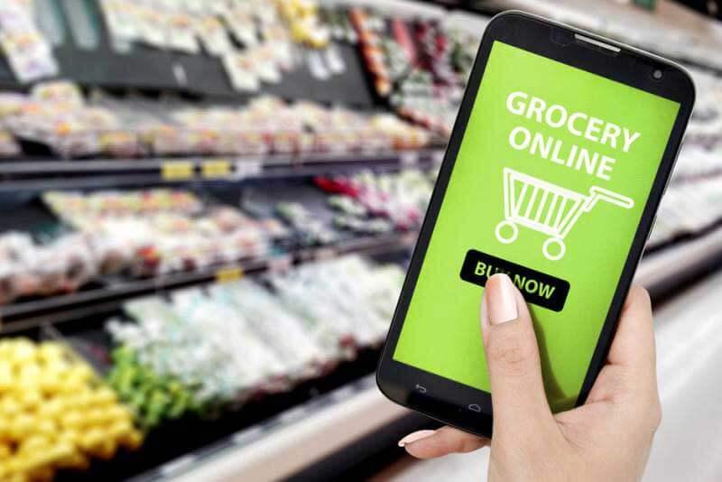 خرید آنلاین غذا و مواد غذایی