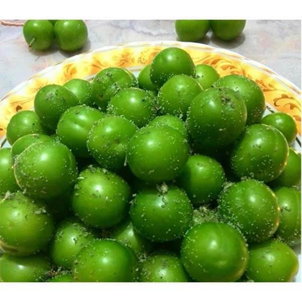 عکس شاخص،گوجه سبز ریز در بسته بندی 5 کیلوگرمی