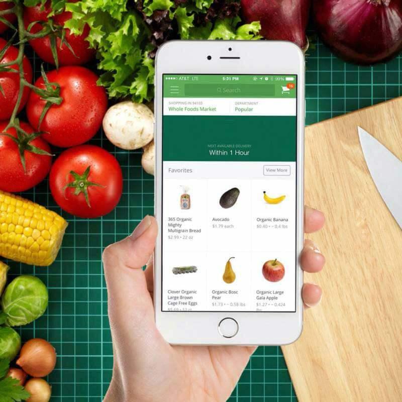 فروشگاه آنلاین مواد غذایی