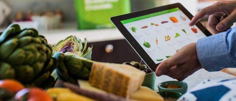 محصولات موجود در فروشگاه های مواد غذایی آنلاین