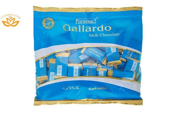 شکلات شیری گالاردو 330 گرمی فرمند در کارتن 4 عددی