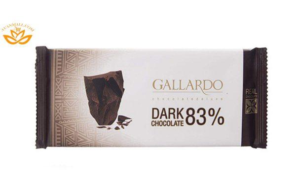 شکلات تلخ تابلت گالارد 65 گرمی فرمند در 6 جعبه 12 عددی