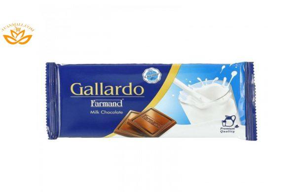شکلات شیری تابلت گالارد 65 گرمی فرمند در 6 جعبه 12 عددی